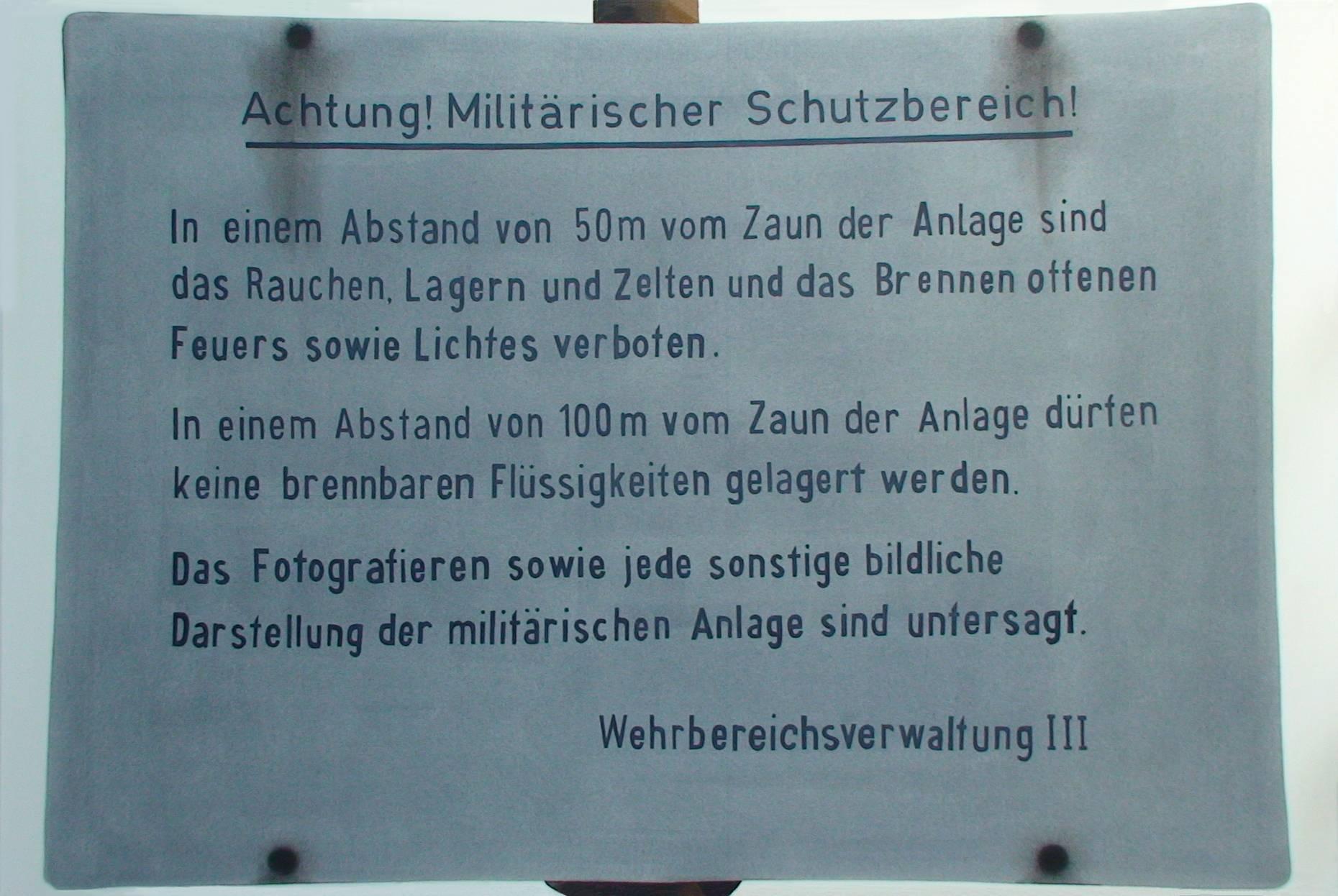Schriftbild 2004 Acrylfarbe a/Nessel 160 x 240 cm