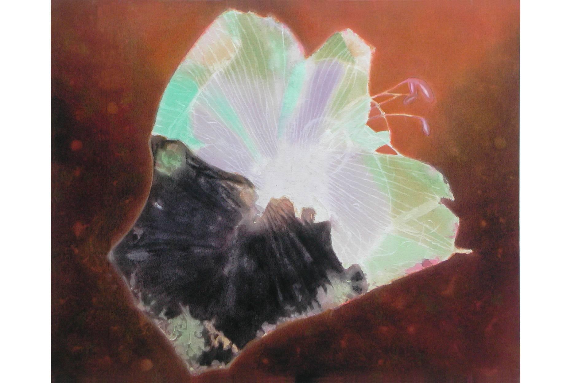 Astral 2002 Acrylfarbe a/Nessel 90 x 110 cm