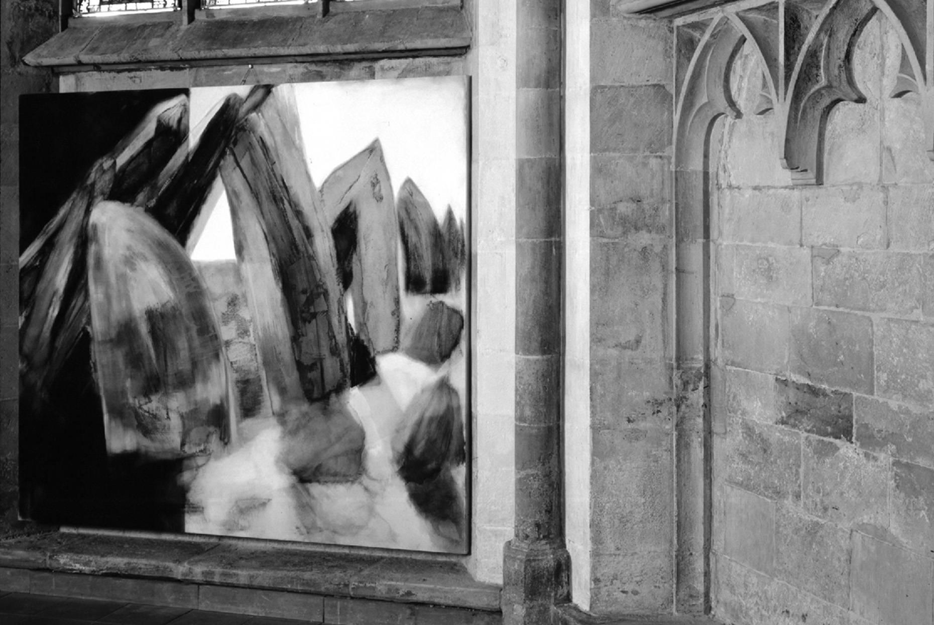 Fundus/Bestand 1997 gotischer Chorraum St. Johannis. Herford