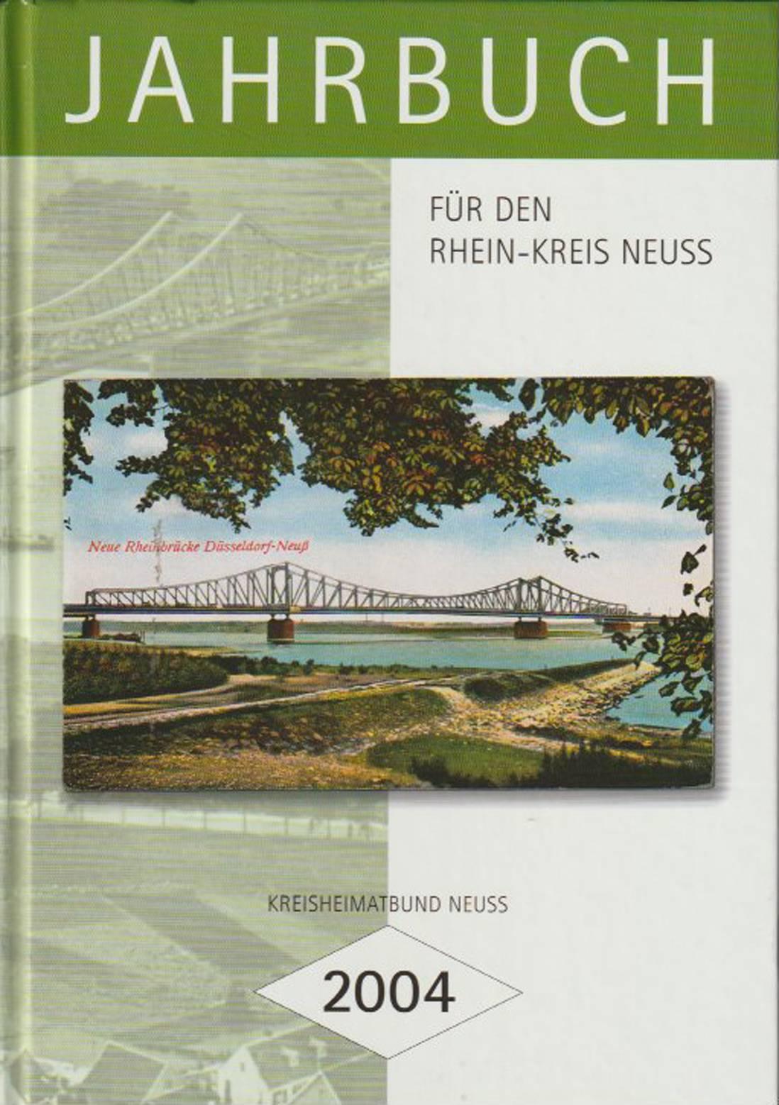 Jahrbuch für den Rhein-Kreis Neuss