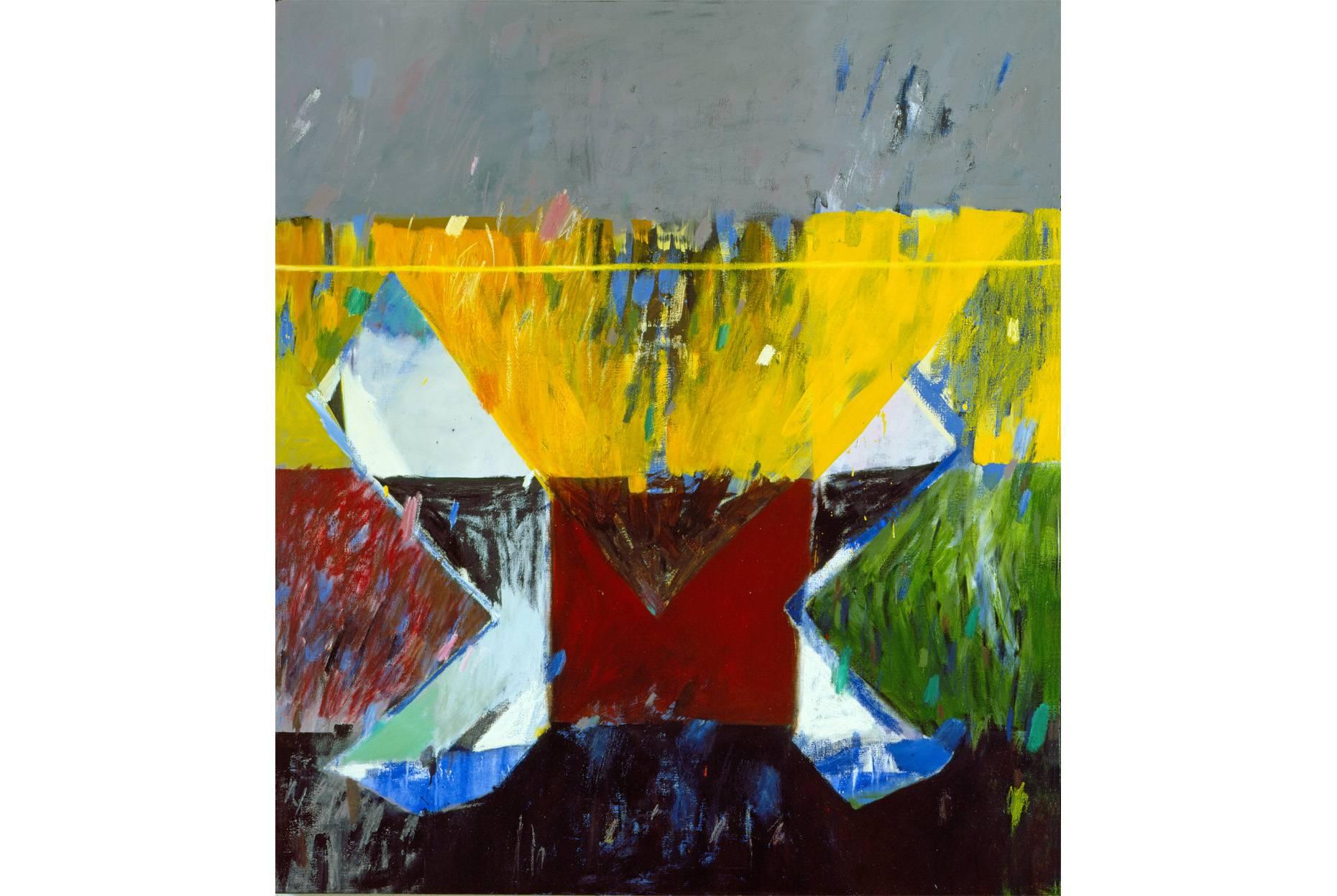 Das Abkommen 1987 Ölfarbe a/Leinwand 170 x 150 cm
