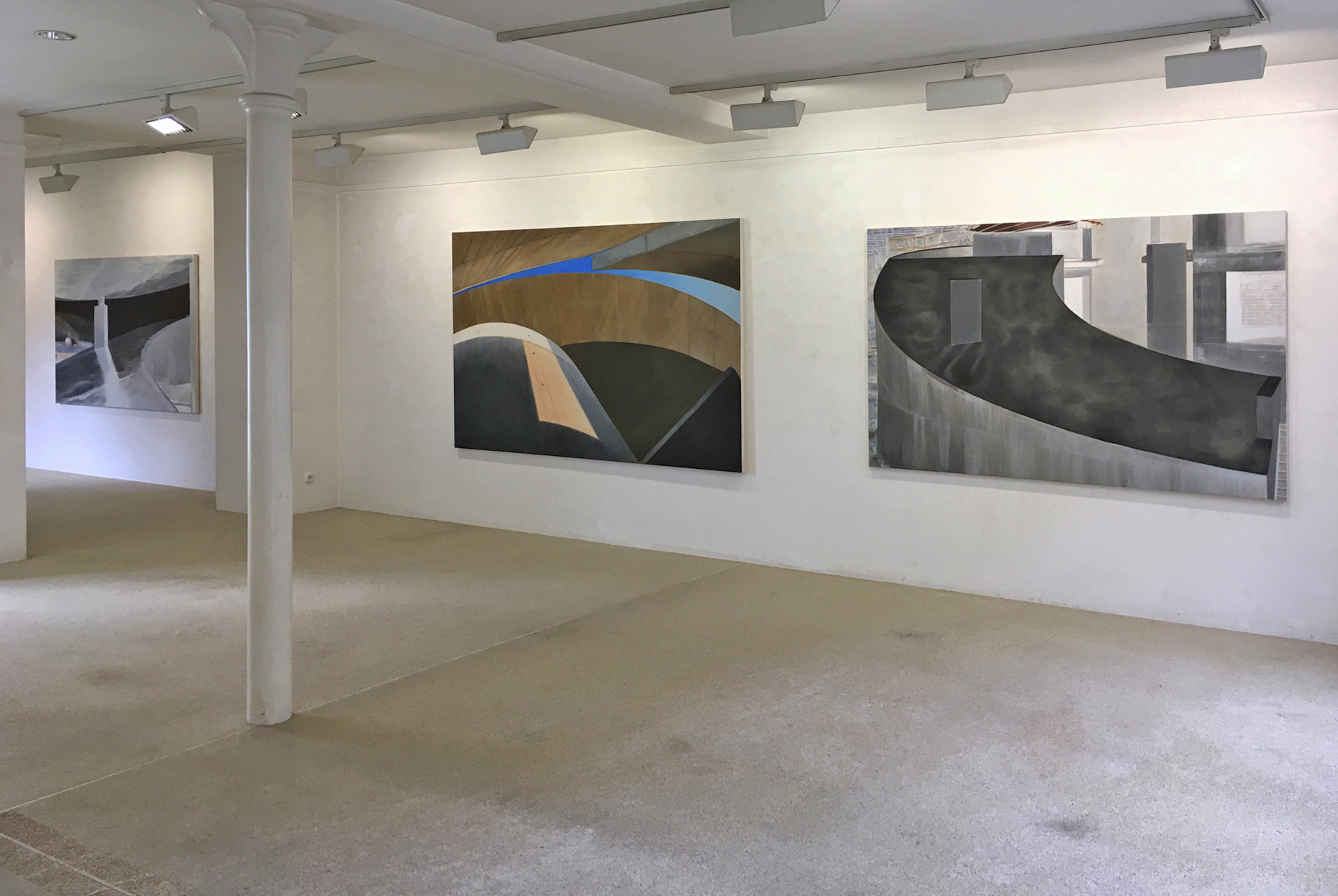 Concrete II 2019 Galerie Konrad Mönter Meerbusch-Osterath