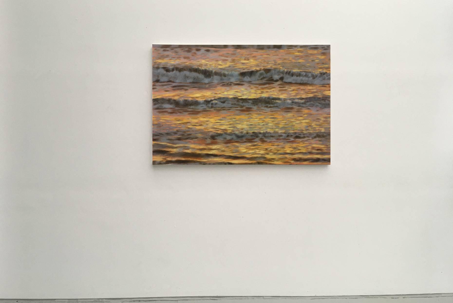 mehr Meer II 2016 Acrylfarbe a/Nessel 60 x 90 cm