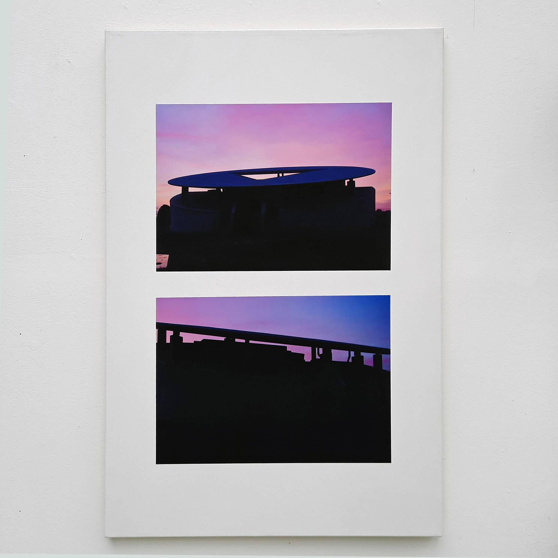 Haus für Musiker 2010-17 2 Fotografien Ultrachrome K3 Tinte a/Canson Infinity 210g/qm aufkaschiert a/Leinwand 90 x 60 cm