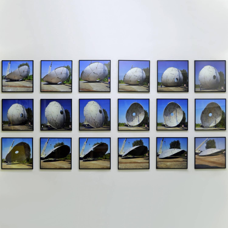 Polyphem 2000 18-tlg. Fotosequenz C-Prints aufgez. u. ger. je 51 x 51 cm