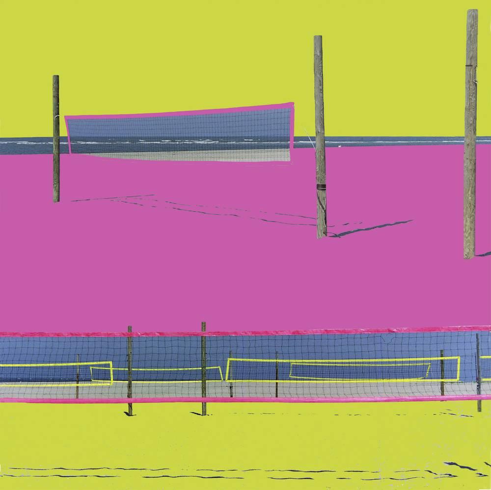 Spielfeld X 2011 40 x 40cm Diasec 2+3 Basic Laserchrome Aufl. III