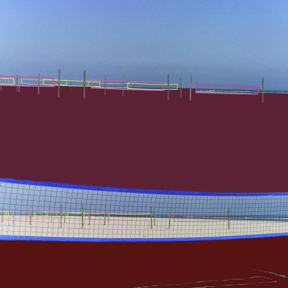 Spielfeld VI 2011 40 x 40cm Diasec 2+3 Basic Laserchrome Aufl. III
