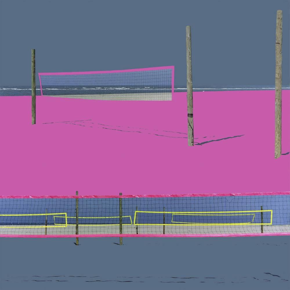Spielfeld VII 2011 40 x 40cm Diasec 2+3 Basic Laserchrome Aufl. III